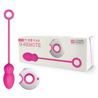 LoversPremium - Zdalnie sterowane jajeczko stymulujące - O-Remote Control Egg Leya