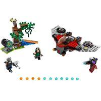 Lego SUPER HEROES Marvel., atak ravagera 76079