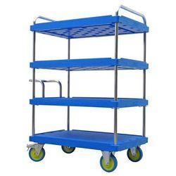 A&a logistik-equipment Wózek piętrowy do dużych obciążeń, dł. x szer. 1200x800 mm, nośność 1000 kg, nie