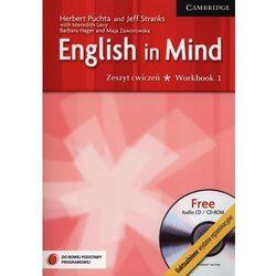 ENGLISH IN MIND 1 EXAM ED WB+CDG 2012-CAMB, rok wydania (2012)