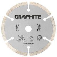 Tarcza do cięcia GRAPHITE 55H550 85 x 10 mm segmentowa do minipilarki