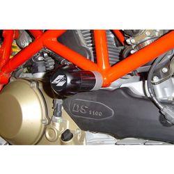 Crash pady PUIG do Ducati Hypermotard 1100 / S 08-12 / 796 11-12 (czarne) - produkt z kategorii- crash pady motocyklowe
