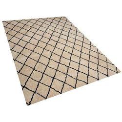 Beliani Dywan 160 x 230 cm beżowy midyat