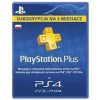 Abonament SONY Playstation Plus 90 dni + Zamów z DOSTAWĄ JUTRO! + DARMOWY TRANSPORT!