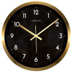 Zegar ścienny Arabic czarny, kolor czarny