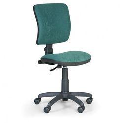 Biurowe krzesło MILANO II bez podłokietników - zielone