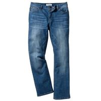 Dżinsy ze stretchem Regular Fit Bootcut bonprix niebieski