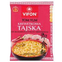 VIFON 70g Tom Yum Krewetkowa Tajska Zupa błyskawiczna o smaku krewetkowym ostra