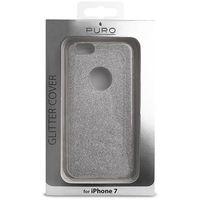 Puro  glitter shine cover - etui iphone 7 (silver) (8033830173059)