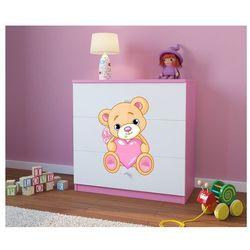 Komoda dziecięca babydreams miś z sercem kolory negocjuj cenę marki Kocot-meble