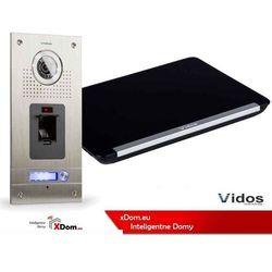 Zestaw wideodomofonu cyfrowego z czytnikiem linii papilarnych duo s561z_m690b marki Vidos