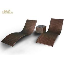 Leżanki ogrodowe SUCCESSO ciemny brąz (LO.004.001) - sprawdź w wybranym sklepie