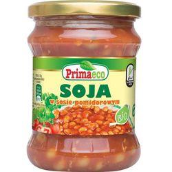 soja w sosie pomidorowym eko 440g, marki Primavika