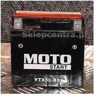 Akumulator motocyklowy Moto Start YTX5L-BS 4Ah 70A