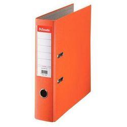 ESSELTE Segregator A4 ekonomiczny z mechanizmem dźwigniowym 75mm, pomarańczowy