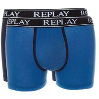 bokserki 2-pak niebieski l, Replay