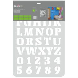 Szablon Colours alphabet, 12511