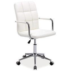 Fotel Obrotowy Q-022 Biały
