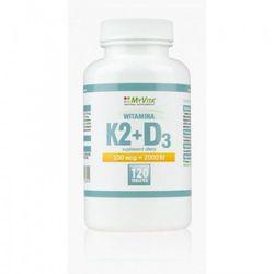 Witamina K2+D3 120 tabl. (Myvita) (artykuł z kategorii Witaminy i minerały)