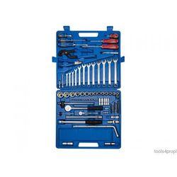 King tony Zestaw nasadek 1/4'' + 1/2'' 97cz. 4 -32mm 6-kąt. z akcesoriami, + narzędzia uniwersalne  7597mr-p