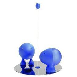 Solniczka i pieprzniczka Lilliput niebieska