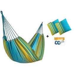 Zestaw hamakowy H w kolorze 299 z poduszkami i zestawem montażowym, Torogoz H-PZS-299
