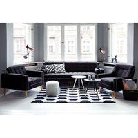 Kanapa ciemnoszara - sofa - wypoczynek - tapicerowana - FLAM (7081452392106)