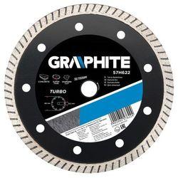 Tarcza do cięcia GRAPHITE 57H622 Diamentowa średnica 180 mm ze sklepu ELECTRO.pl