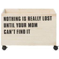 Duża drewniana skrzynia na zabawki Nothing is really lost - Bloomingville