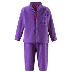 Komplet polarowy dwuczęściowy Reima ETMIN bluza/spodnie fioletowy ()