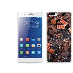 Foto Case - Huawei Honor 6 Plus - etui na telefon Foto Case - kawałki czekolady (Futerał telefoniczny)