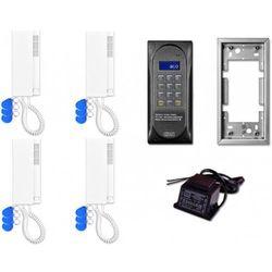 Domofon wielolokatorski cdnp6acc dla 4 lokatorów. marki Aco