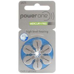 6 x baterie do aparatów słuchowych Power One Varta 675 MF - produkt z kategorii- Baterie