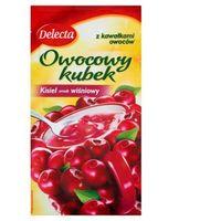 Kisiel DELECTA owocowy kubek 30g - wiśnia
