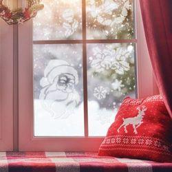 5szt. szablonów wielokrotnych do sztucznego śniegu #1, SZA-XMAS-001