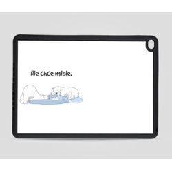 Etui na iPad Air 2: Nie chce misie, towar z kategorii: Pokrowce i etui na tablety