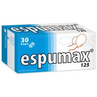 Espumax 125 125 mg x 30 kaps, postać leku: kapsułki