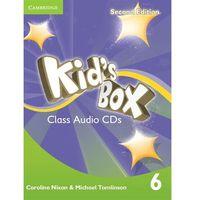 Kids Box 2E 6 Class Cd, oprawa kartonowa