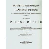 Prusse Royale reprint Zabytki przedhistoryczne (9788373806931)