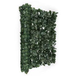 Blumfeldt Fency Dark Ivy osłona balkonowaosłona przed wiatrem 300x100cm bluszcz ciemnozielony