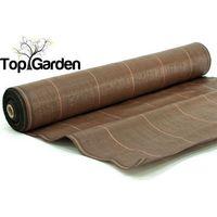 Topgarden Agrotkanina mata 1,6x100m 70g/m2 uv brązowa - brązowy \ 160 cm \ 100 m
