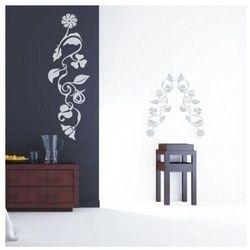 Wally - piękno dekoracji Szablon malarski roślinne pnącza 002