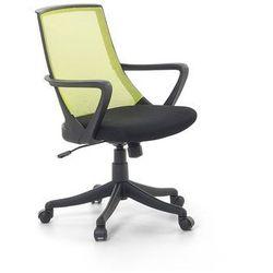 Krzesło biurowe zielone - fotel biurowy obrotowy - meble biurowe - ergo marki Beliani