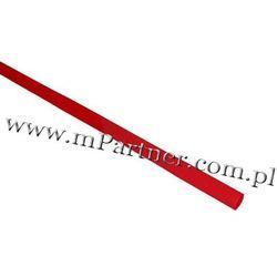 Rura termokurczliwa elastyczna v20-hft 2,5/1,3 10szt czerwona wyprodukowany przez Mpartner