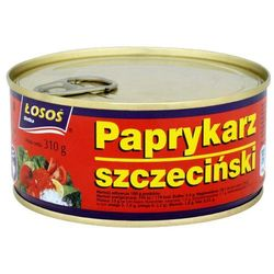Paprykarz szczeciński 310 g Łosoś Ustka - produkt z kategorii- Konserwy i przetwory rybne