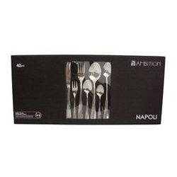 Komplet sztućców Napoli Gift Box 42 elementy