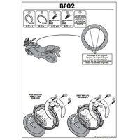 Givi MOCOWANIE TANK BAG EASY LOCK BF02 TRIUMPH/APRILIA GIVI BF02 - sprawdź w wybranym sklepie
