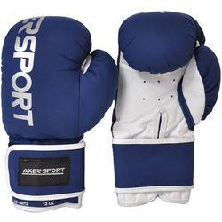 Rękawice bokserskie AXER SPORT A1346 Granatowo-Biały (10 oz) z kategorii Rękawice do walki