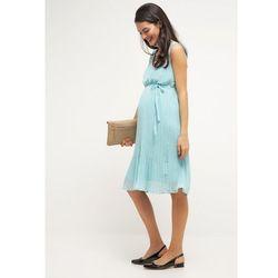 MAMALICIOUS MLIBI Sukienka letnia aqua haze - produkt z kategorii- Sukienki ciążowe