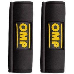 Omp racing Nakładki 3- calowe na pasy omp db450-3 czarne